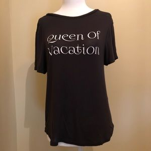 Tops - Short Sleeve T-Shirt with fun saying.